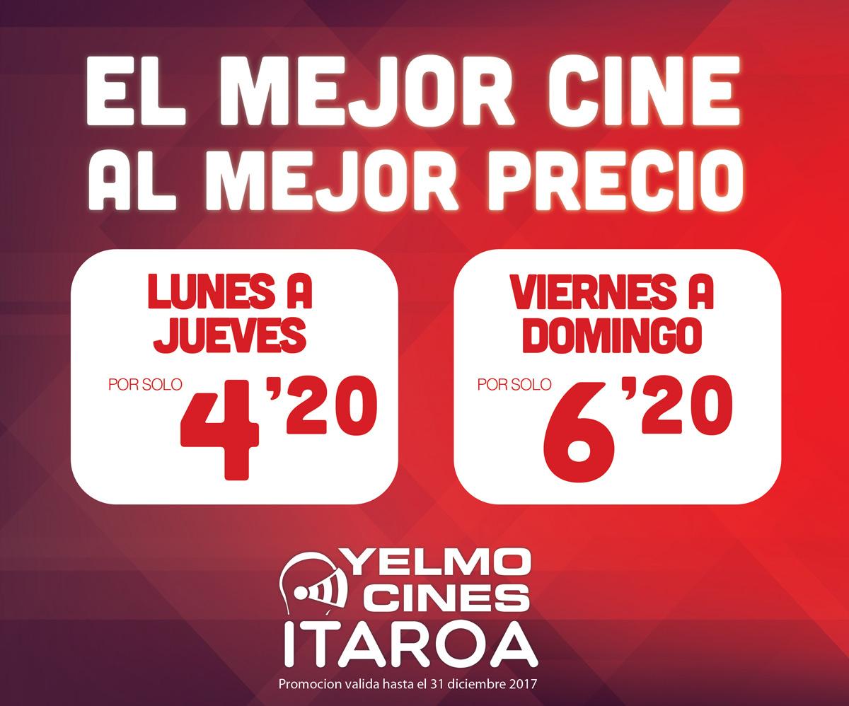 El Mejor Cine Al Mejor Precio Centro Comercial Itaroa