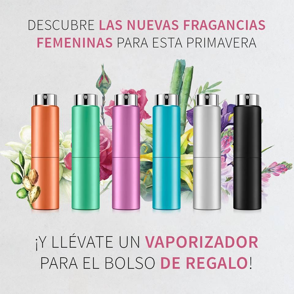 Promoción primavera 2018, nuevos perfumes