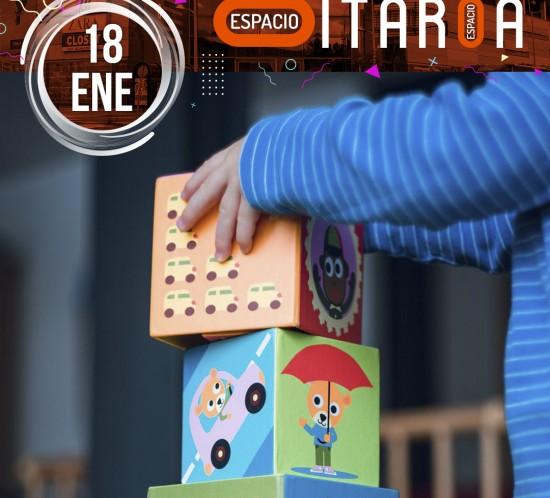 18 enero taller de animacion infantil