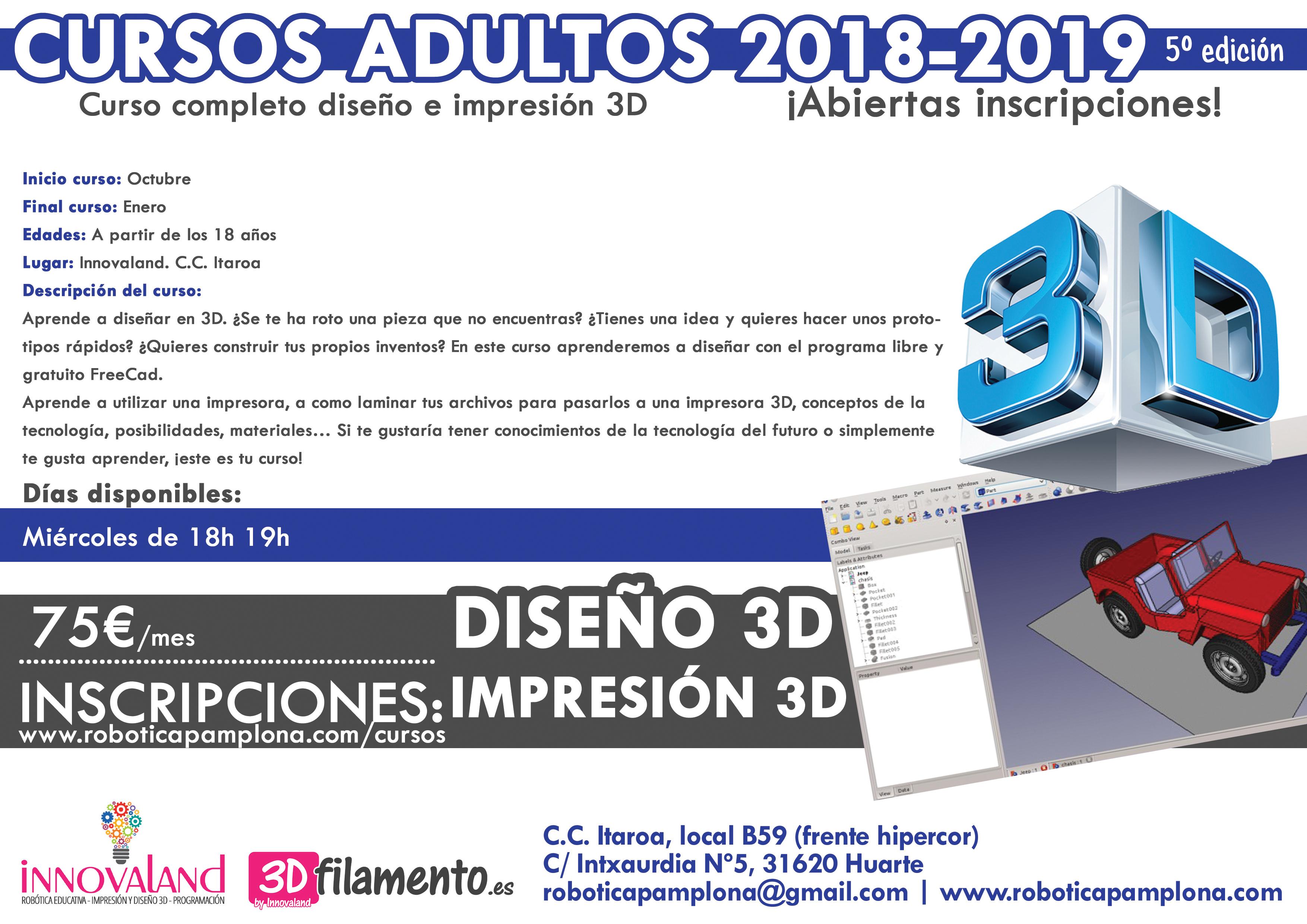 CURSO ADULTOS 3D 2018-2019