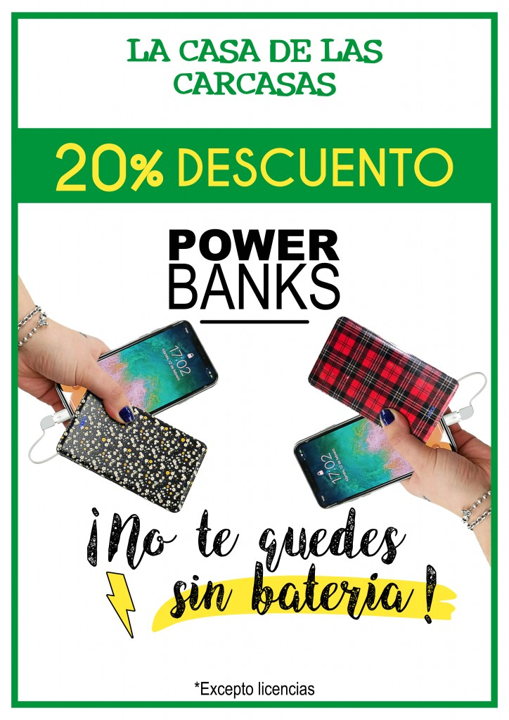 Carteldescuentopowerbanks